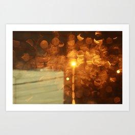Warm Rain Art Print