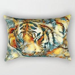 AnimalArt_Tiger_20170606_by_JAMColorsSpecial Rectangular Pillow