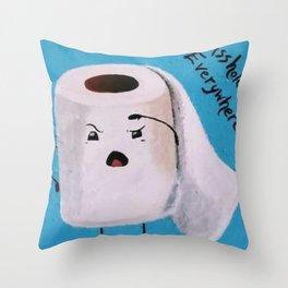 Pandemic TP Throw Pillow