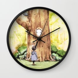 A Curious Quercus Wall Clock