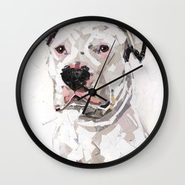 Wilbur for Friends of the Shelter Wall Clock