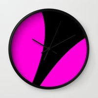 contemporary Wall Clocks featuring Contemporary by lillianhibiscus