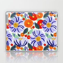 Alia #floral #illustration #botanical Laptop & iPad Skin