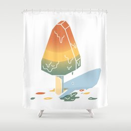A Cold Treat Shower Curtain