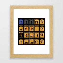 Friday I'm In Love! Framed Art Print
