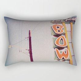 Del Rosa Bowl - San Bernardino, CA Rectangular Pillow