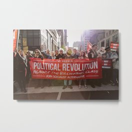 A Political Revolution Metal Print