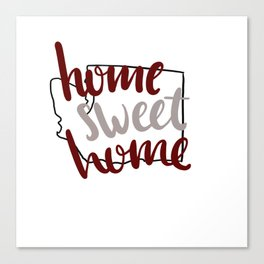 Home Sweet Home-WSU Canvas Print