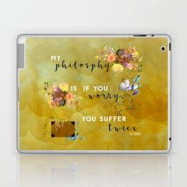 My philosophy Laptop & iPad Skin