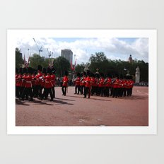Soldiers March 12 Art Print