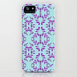 zakiaz holli blue iPhone Case