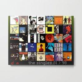Depeche Metal Print
