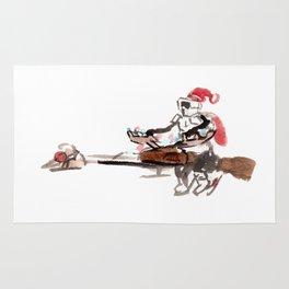 Santa Scout is Coming Rug