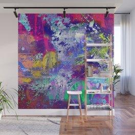 Rainbow Anguish Wall Mural