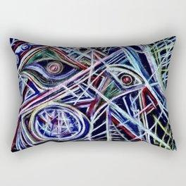 Eyes on a dancefloor Rectangular Pillow