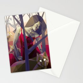 Of the hunt Stationery Cards