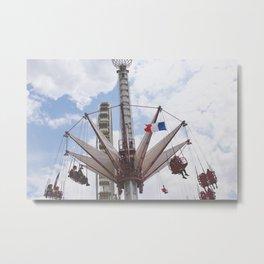 Paris Swinging Metal Print