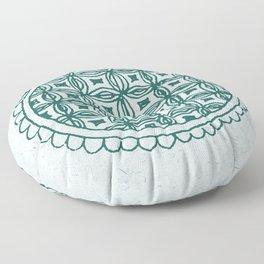 Indian Tribal Folk Art 1 Floor Pillow
