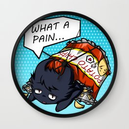 What A Pain Wall Clock