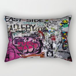 Fuck Walls Rectangular Pillow