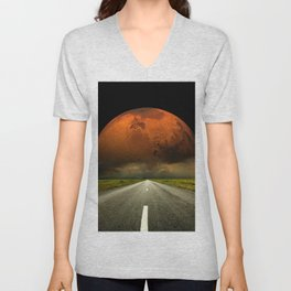 Down the Road Again Unisex V-Neck