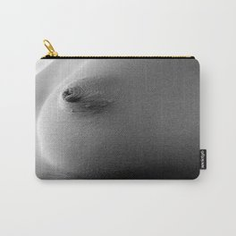 Simple Nipple Black & White Carry-All Pouch