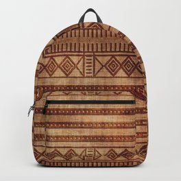 -A24- African Moroccan Traditional Artwork. Backpack