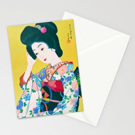 12,000pixel-500dpi - kawase hasui - Late Spring - Digital Remastered Edition Stationery Cards