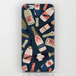 French Champagne Collection – Teal iPhone Skin