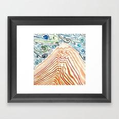 Mount Fuji Migraine Framed Art Print