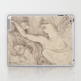 """Henri de Toulouse-Lautrec """"Guy et Mealy, dans Paris qui Marche"""" Laptop & iPad Skin"""