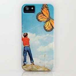 The nonflying monarca iPhone Case
