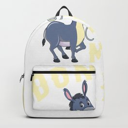 donkeys make me happy donkeys make me happy Backpack