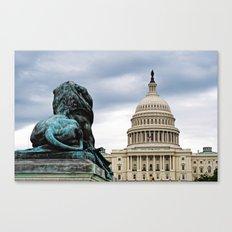 Guarding Freedom Canvas Print