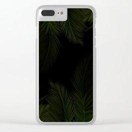 Hidden Jungle Clear iPhone Case