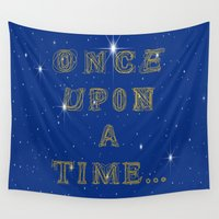 fairy tale Wall Tapestries featuring Fairy Tale Beginnings by Fimbis