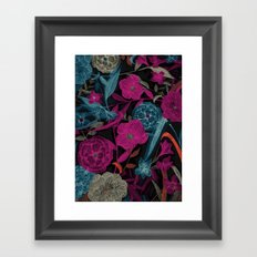 Dark Garden Framed Art Print