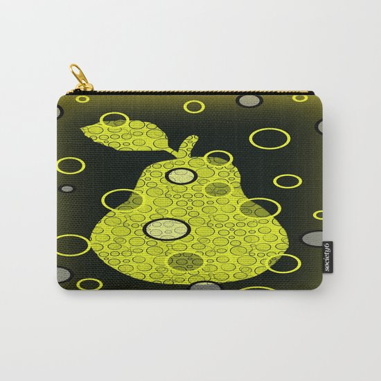 Ornate Pear Carry-All Pouch