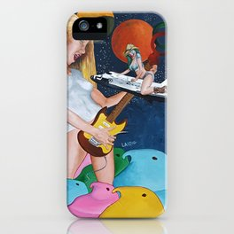 The illusory rockstar iPhone Case