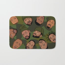 Rappers Camo by turbobambi Bath Mat