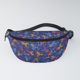 Tossed Posion Dart Frogs Fanny Pack