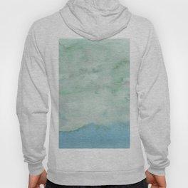 Light blue seascape Hoody
