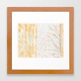 First Snowfall Framed Art Print