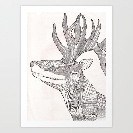 The Forest Spirit Art Print