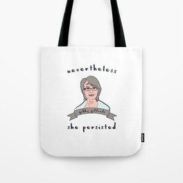 Nevertheless, Gabby Giffords Persisted Tote Bag