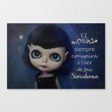 Soñadores Canvas Print