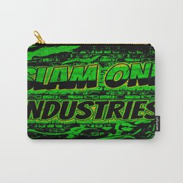 Slam 1 Industries Green Fire Carry-All Pouch