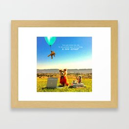 Cinta Framed Art Print