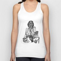 vogue Tank Tops featuring Vogue by [ g ]
