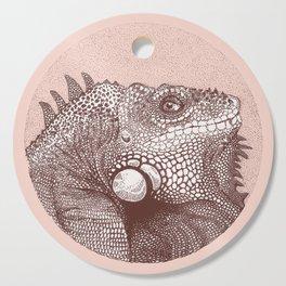 Iguana Cutting Board